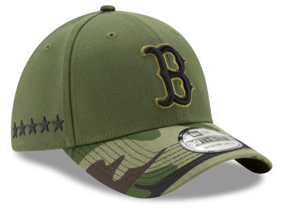 Boston Red Sox New Era 2017 MLB Memorial Day 39THIRTY Cap