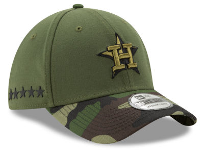 Houston Astros New Era 2017 MLB Memorial Day 39THIRTY Cap
