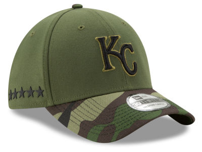 Kansas City Royals New Era 2017 MLB Memorial Day 39THIRTY Cap