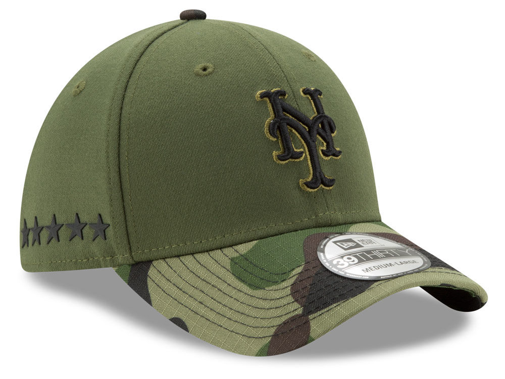 New York Mets New Era 2017 MLB Memorial Day 39THIRTY Cap  3dd71ca8da4