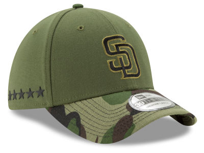 San Diego Padres New Era 2017 MLB Memorial Day 39THIRTY Cap