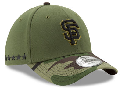 San Francisco Giants New Era 2017 MLB Memorial Day 39THIRTY Cap