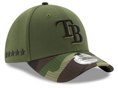 Tampa Bay Rays New Era 2017 MLB Memorial Day 39THIRTY Cap