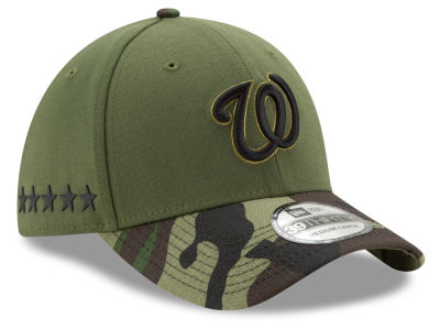 Washington Nationals New Era 2017 MLB Memorial Day 39THIRTY Cap