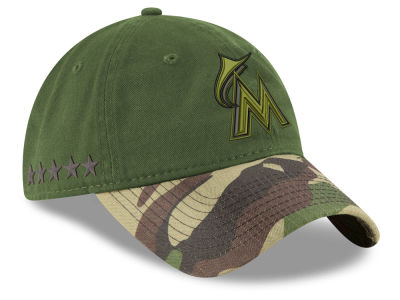 Miami Marlins New Era 2017 MLB Memorial Day 9TWENTY Cap