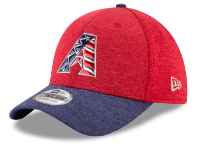 Arizona Diamondbacks New Era 2017 MLB Stars & Stripes 39THIRTY Cap