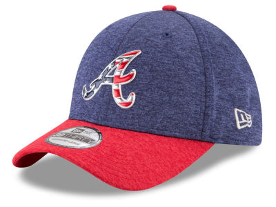Atlanta Braves New Era 2017 MLB Stars & Stripes 39THIRTY Cap