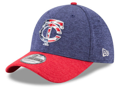 Minnesota Twins New Era 2017 MLB Stars & Stripes 39THIRTY Cap