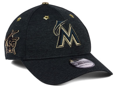 Miami Marlins New Era 2017 MLB All Star Game 39THIRTY Cap