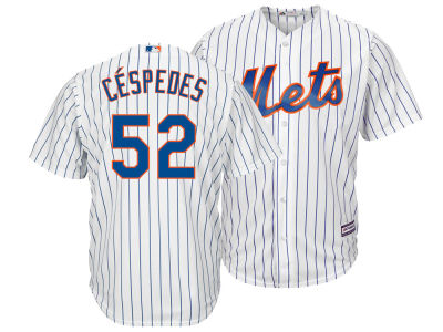 New York Mets Yoenis Cespedes Majestic MLB Men's Player Replica CB Jersey