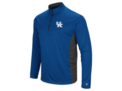 Kentucky Wildcats Colosseum NCAA Men's Audible Quarter Zip Pullover