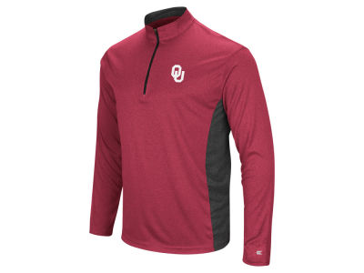 Oklahoma Sooners Colosseum NCAA Men's Audible Quarter Zip Pullover
