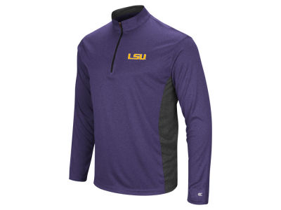 LSU Tigers Colosseum NCAA Men's Audible Quarter Zip Pullover