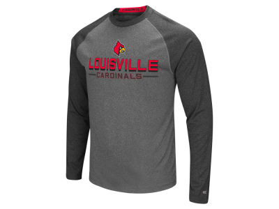 Louisville Cardinals Colosseum NCAA Men's Ultra Long Sleeve Raglan T-shirt