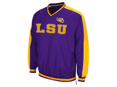 LSU Tigers Colosseum NCAA Men's Attack Line Windbreaker Jacket