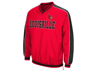 Louisville Cardinals Colosseum NCAA Men's Attack Line Windbreaker Jacket