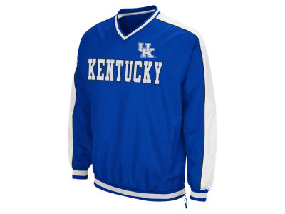 Kentucky Wildcats Colosseum NCAA Men's Attack Line Windbreaker Jacket ES