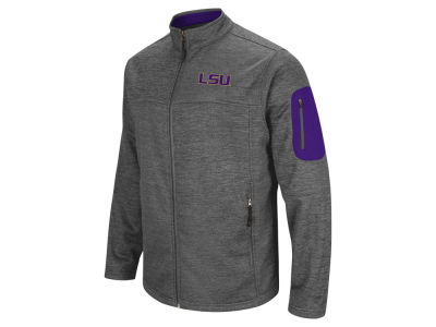 LSU Tigers Colosseum NCAA Men's Anchor Full Zip Jacket