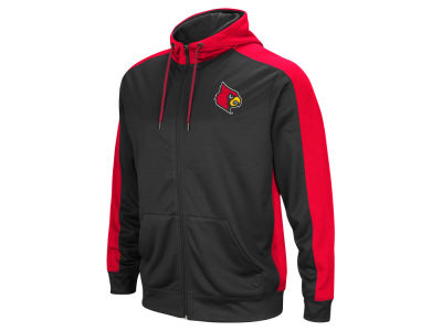 Louisville Cardinals Colosseum NCAA Men's Take Over Full Zip Hoodie