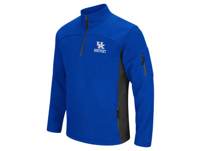 Kentucky Wildcats Colosseum NCAA Men's Advantage Quarter Zip Pullover