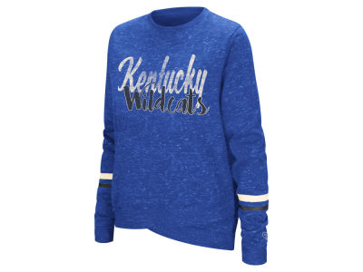 Kentucky Wildcats Colosseum NCAA Women's Birdie Fleece Crew Sweatshirt