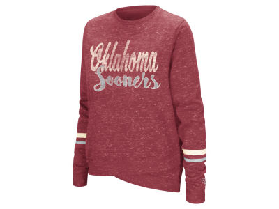 Oklahoma Sooners Colosseum NCAA Women's Birdie Fleece Crew Sweatshirt