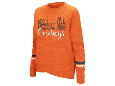 Oklahoma State Cowboys Colosseum NCAA Women's Birdie Fleece Crew Sweatshirt