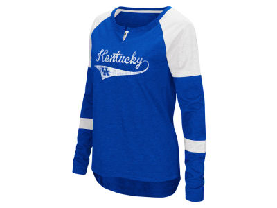 Kentucky Wildcats Colosseum NCAA Women's Routine Long Sleeve T-Shirt