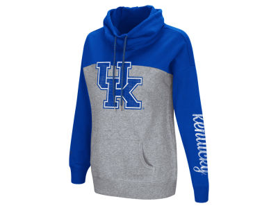 Kentucky Wildcats Colosseum NCAA Women's Springboard Funnel Neck Hoodie