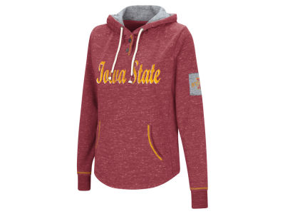 Iowa State Cyclones Colosseum NCAA Women's Double Fleece Hoodie