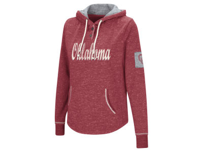 Oklahoma Sooners Colosseum NCAA Women's Double Fleece Hoodie