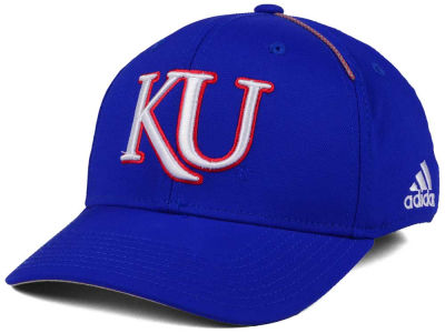 Kansas Jayhawks adidas 2017 NCAA Coaches Flex Cap