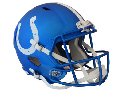 Indianapolis Colts Speed Blaze Alternate Replica Helmet