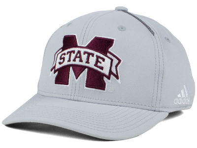 Mississippi State Bulldogs adidas 2017 NCAA Coaches Flex Cap