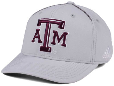 Texas A&M Aggies adidas 2017 NCAA Coaches Flex Cap