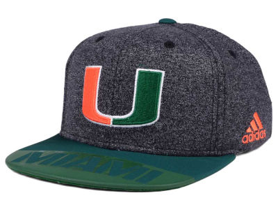 Miami Hurricanes adidas NCAA Player Snapback Cap