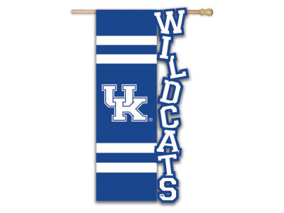 Kentucky Wildcats Sculpted Applique House Flag
