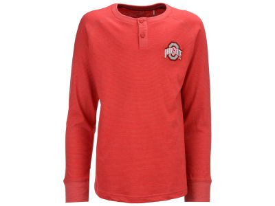 Ohio State Buckeyes NCAA Toddler Hunter Long Sleeve Henley
