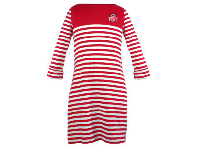 Ohio State Buckeyes NCAA Toddler Girls Kristen Striped Dress