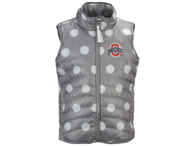 Ohio State Buckeyes NCAA Girls Alexandra Quilted Vest