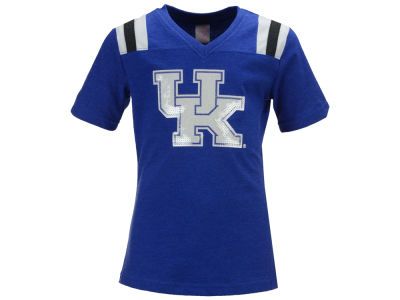 Kentucky Wildcats Colosseum NCAA Youth Girls Rugby T-Shirt