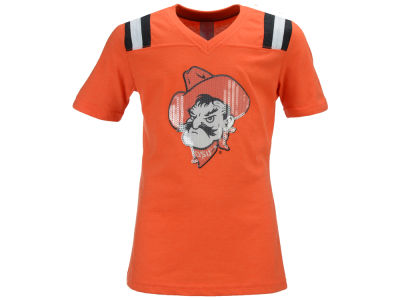 Oklahoma State Cowboys Colosseum NCAA Youth Girls Rugby T-Shirt