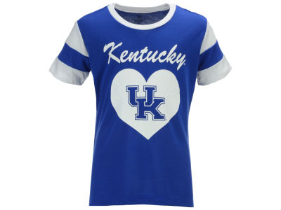Kentucky Wildcats Colosseum NCAA Girls Bronze Medal Heart T-Shirt