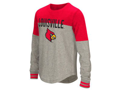 Louisville Cardinals Colosseum NCAA Girls Baton Long Sleeve T-Shirt