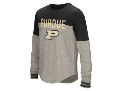 Purdue Boilermakers Colosseum NCAA Girls Baton Long Sleeve T-Shirt