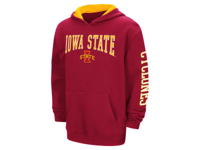 Iowa State Cyclones Colosseum NCAA Youth Zone Pullover Hoodie