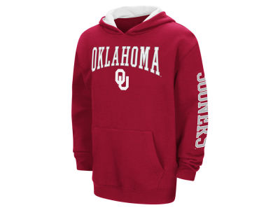 Oklahoma Sooners Colosseum NCAA Youth Zone Pullover Hoodie