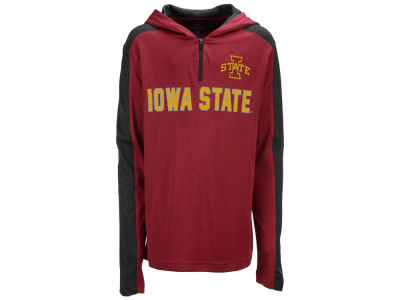 Iowa State Cyclones Colosseum NCAA Youth Hotshot Quarter Zip Hoodie
