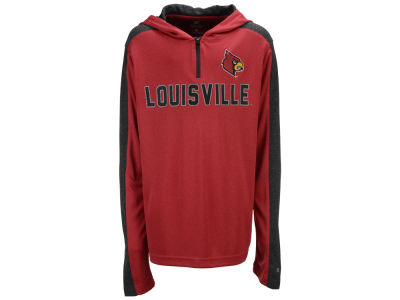 Louisville Cardinals Colosseum NCAA Youth Hotshot Quarter Zip Hoodie