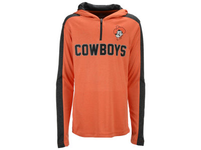 Oklahoma State Cowboys Colosseum NCAA Youth Hotshot Quarter Zip Hoodie